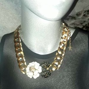Chanel Camelia Flower Necklace